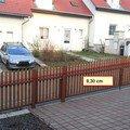 Venkovni natery predni plot