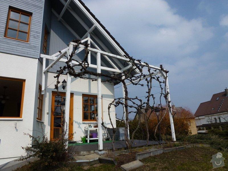 Rekonstrukce venkovní terasy+pergola: P1000914