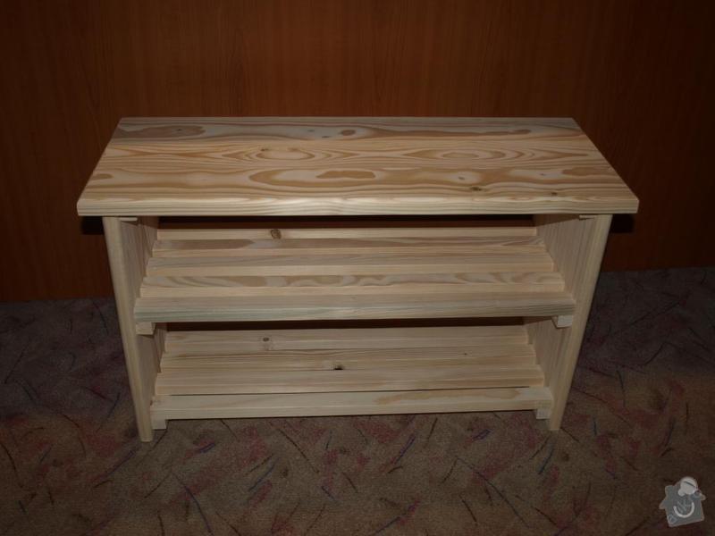 Botník dřevěný: shora