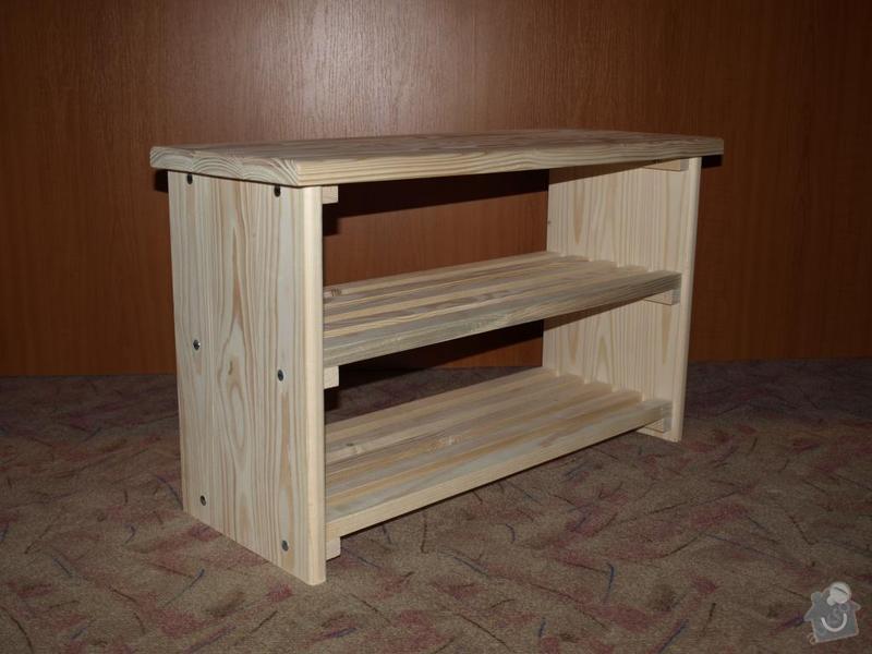 Botník dřevěný: strana