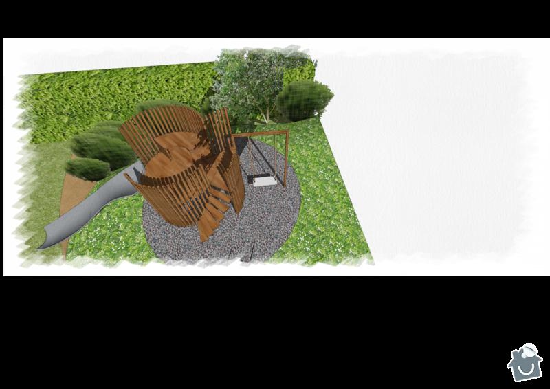 Dětská rozhledna do zahrady: Veres_layouty_08