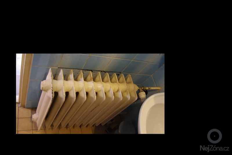 Topenarske prace - vymena radiatoru: koupelna1
