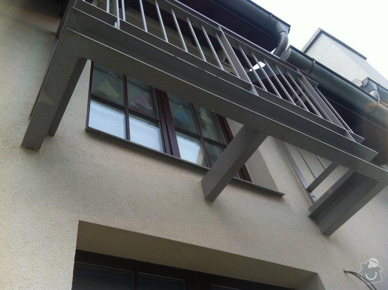 Pokládka terasy z exotického dřeva: balkon
