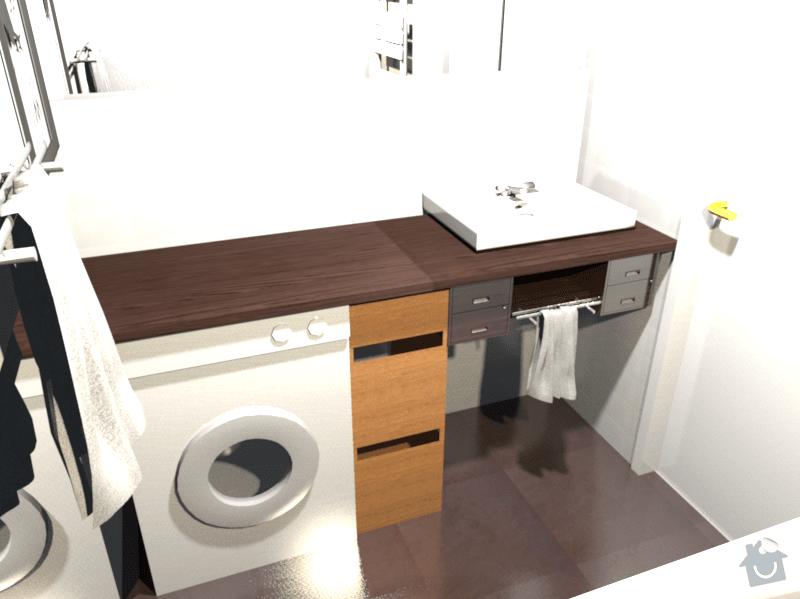 Výroba desky pod umývadlo: kupelna_viva
