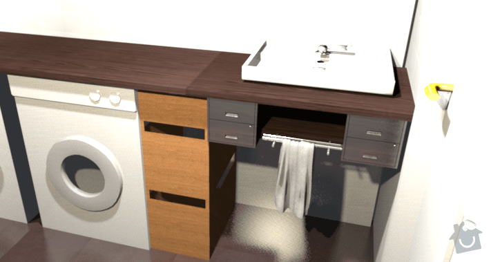 Výroba desky pod umývadlo: kupelna_viva2