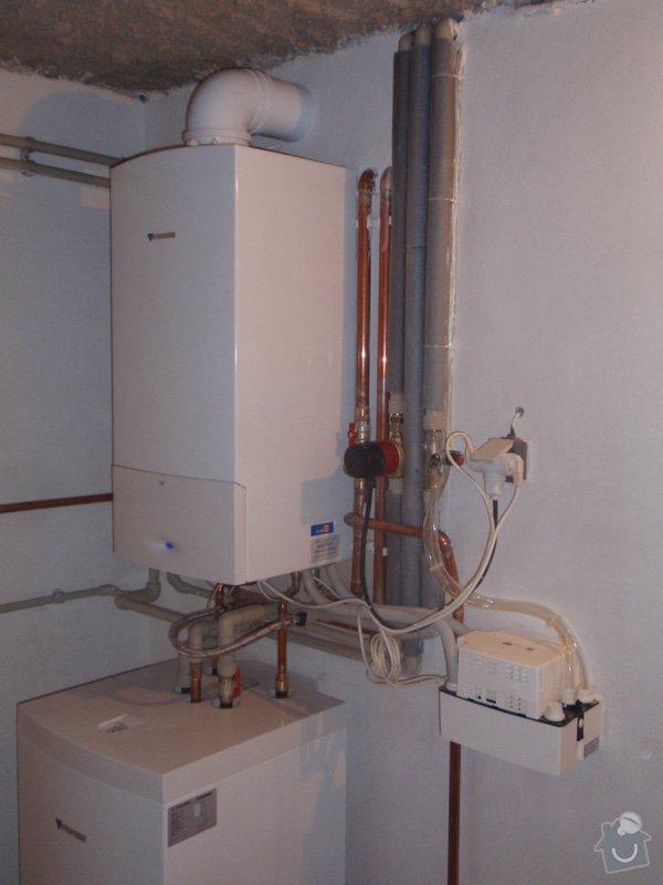 Montáž plynového topení: P4181332