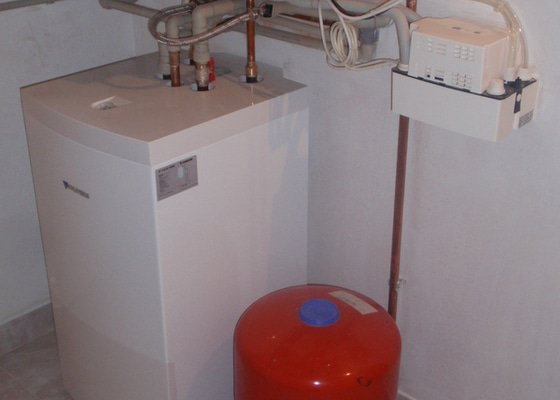 Montáž plynového topení