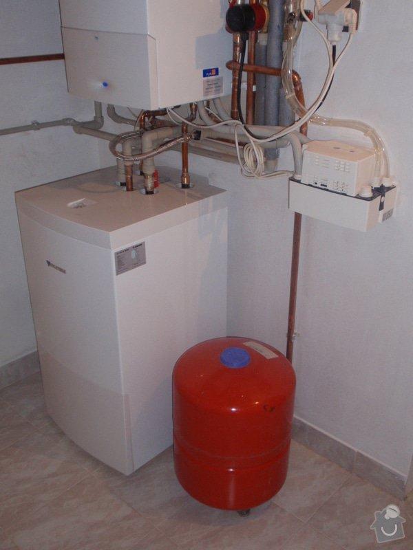 Montáž plynového topení: P4181333