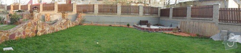 Realizace malé zahrady: DSC03241
