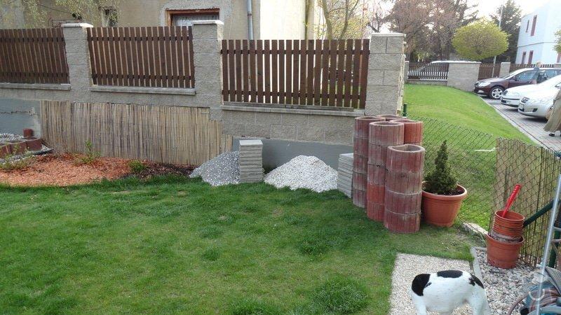Realizace malé zahrady: DSC03242
