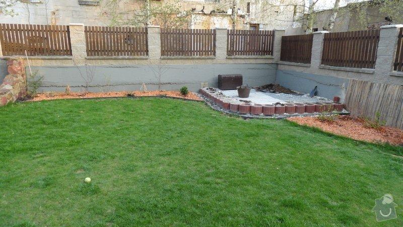 Realizace malé zahrady: DSC03243