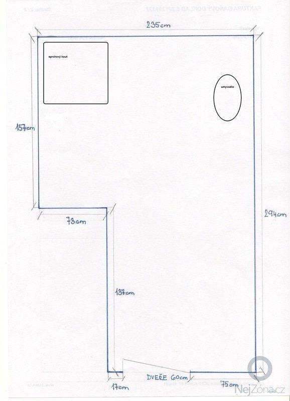 Rekonstrukce dvou koupelen v RD: planek_002