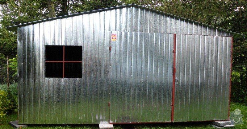 Plechová garáž: DSCN1409