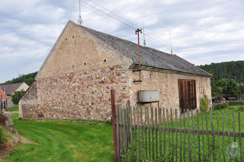 Stodola - rekonstrukce střechy: DSC_0136