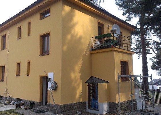 Celková rekonstrukce fasády