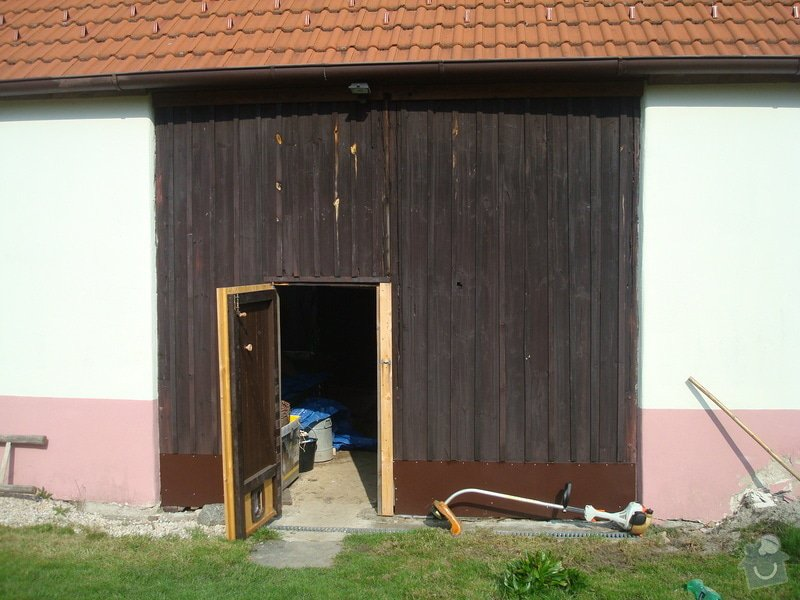 Drevena vrata do stodoly: DSC09517