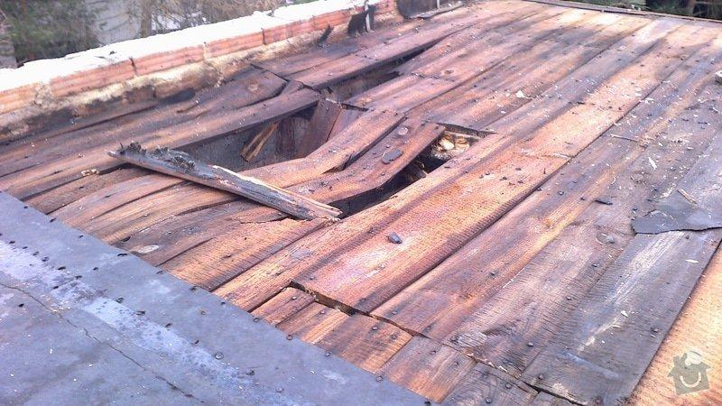 Zhotovení střechy: 2013-04-11-215