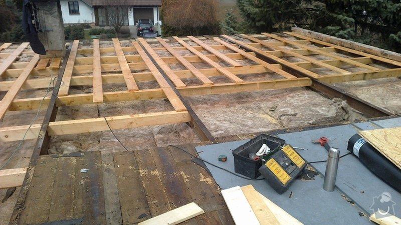 Zhotovení střechy: 2013-04-10-210
