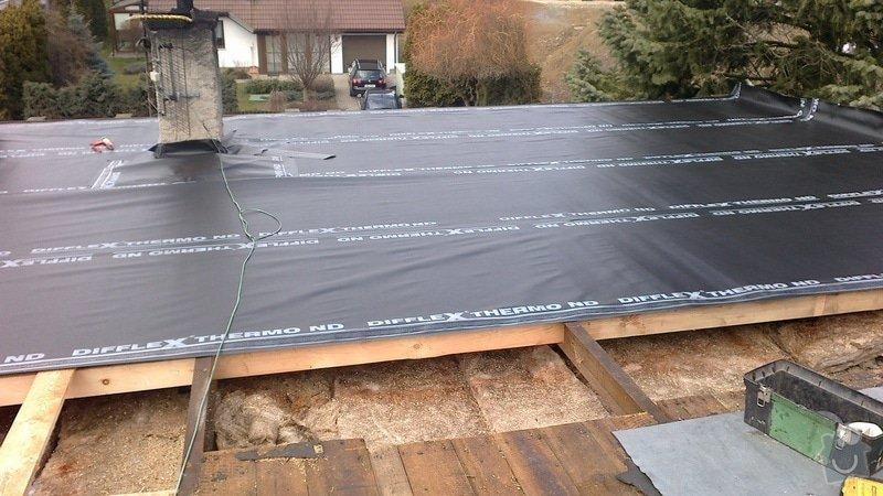Zhotovení střechy: 2013-04-10-212
