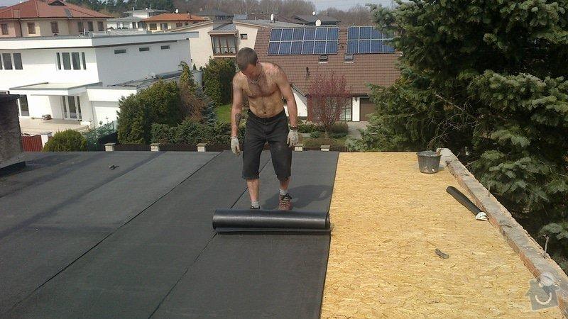 Zhotovení střechy: 2013-04-18-245