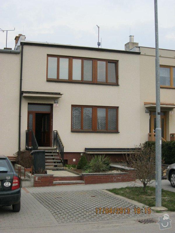 Zateplení RD včetně fasády, cca 120 m2: Podlesna_17_pohled_z_ulice