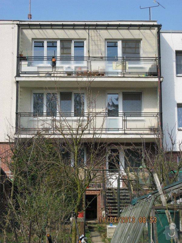 Zateplení RD včetně fasády, cca 120 m2: Podlesna_17_pohled_ze_zahrady