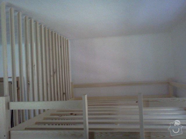 Zhotovení patrové dvojpostele: IMG836