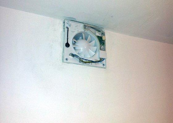 Zapojení ventilátoru v koupelně