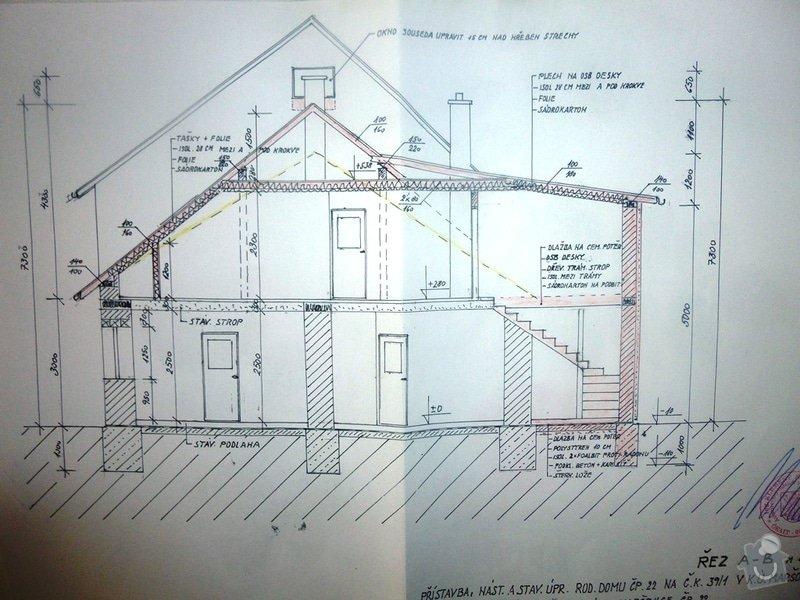 Nová sedlová střecha ŘRD: a