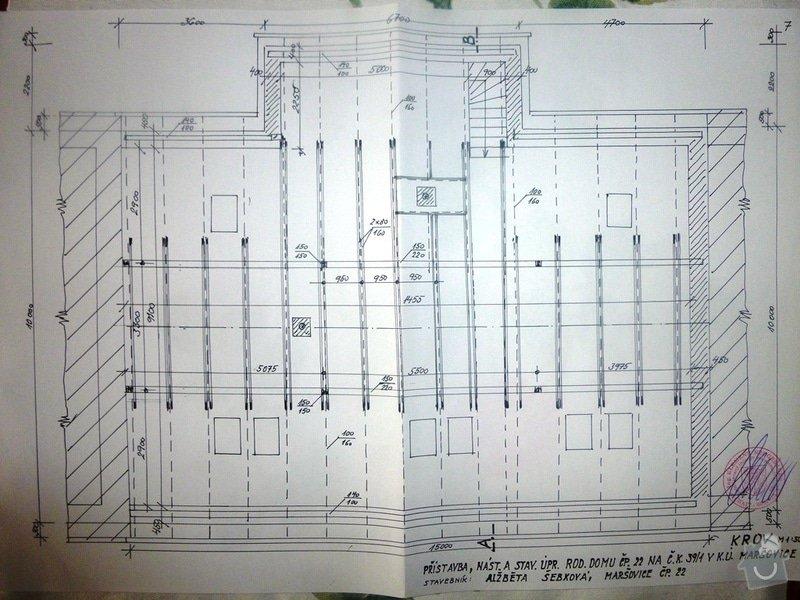 Nová sedlová střecha ŘRD: P1000043a
