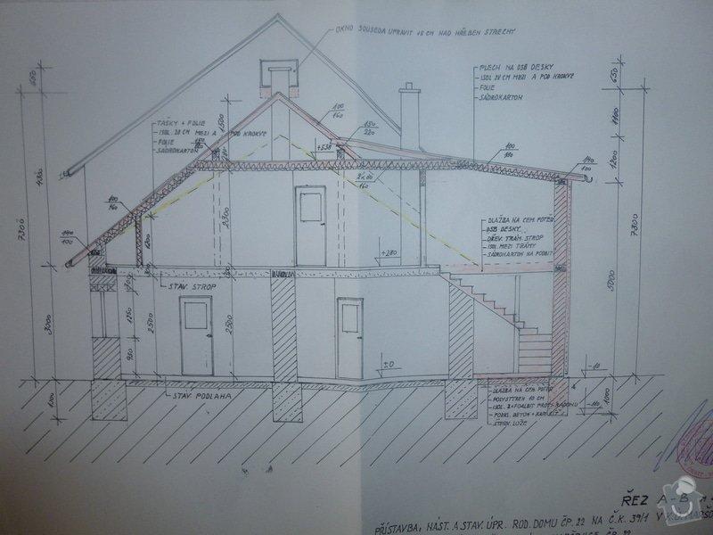 Nová sedlová střecha ŘRD: P1000041
