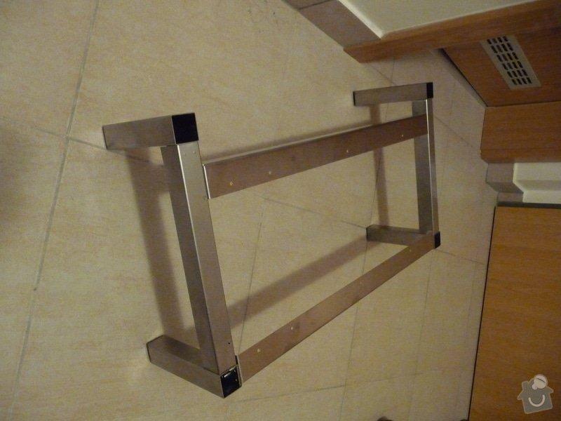 Zkrácení nožiček ocelového podstavce: P1140100