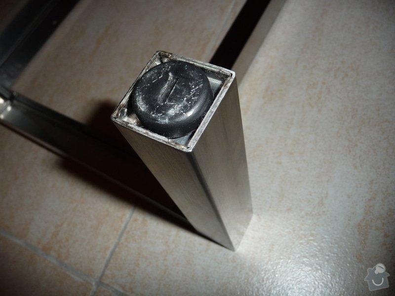 Zkrácení nožiček ocelového podstavce: P1140102