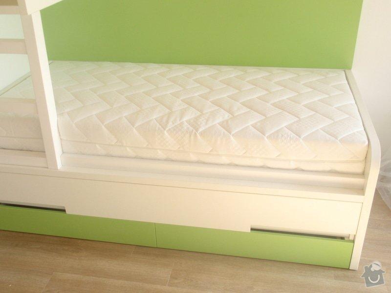 Drobné stavební úpravy + výroba postelí do dětského pokoje: DUBEN2013_143