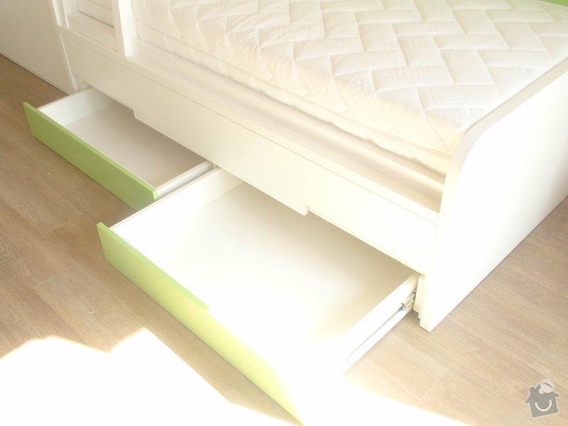 Drobné stavební úpravy + výroba postelí do dětského pokoje: DUBEN2013_144