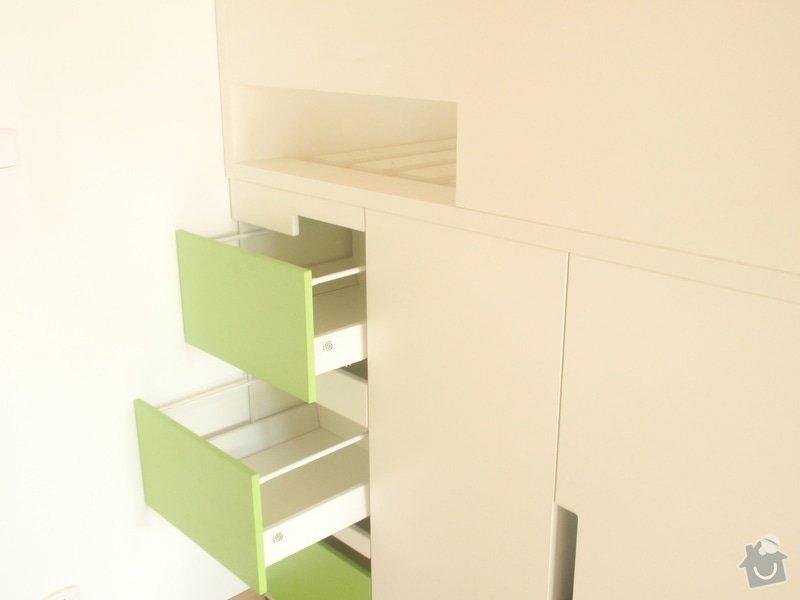Drobné stavební úpravy + výroba postelí do dětského pokoje: DUBEN2013_145