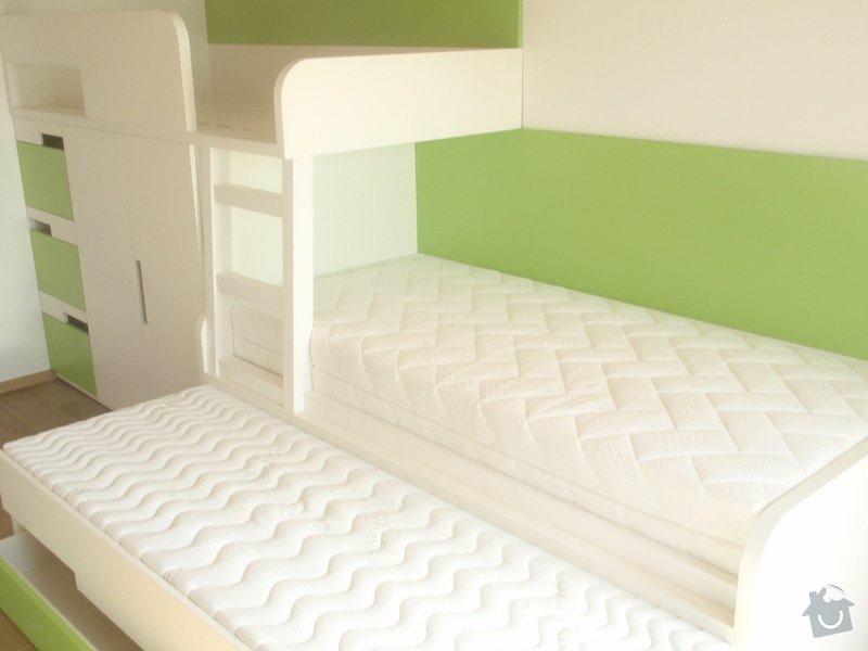 Drobné stavební úpravy + výroba postelí do dětského pokoje: DUBEN2013_150
