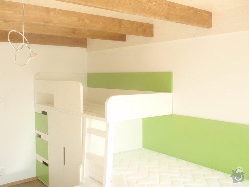 Drobné stavební úpravy + výroba postelí do dětského pokoje: DUBEN2013_151
