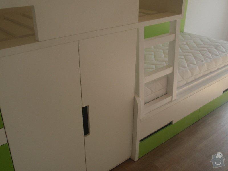 Drobné stavební úpravy + výroba postelí do dětského pokoje: DUBEN2013_158