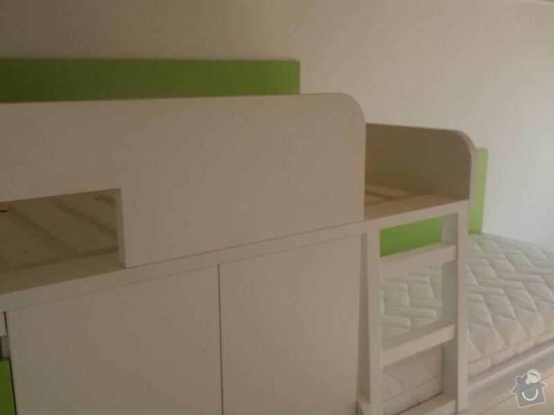 Drobné stavební úpravy + výroba postelí do dětského pokoje: DUBEN2013_159