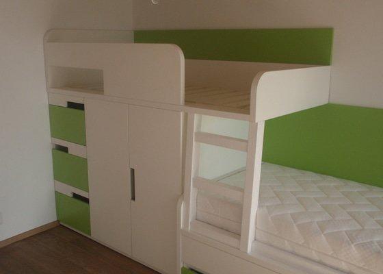 Drobné stavební úpravy + výroba postelí do dětského pokoje