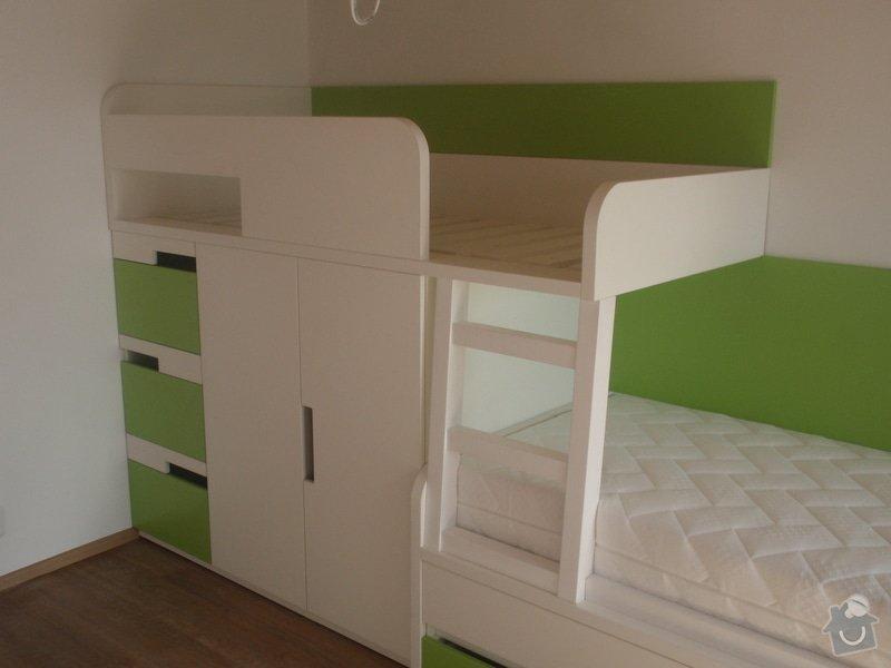 Drobné stavební úpravy + výroba postelí do dětského pokoje: DUBEN2013_160