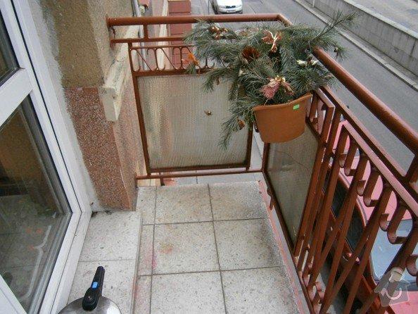 Stavební práce - oprava balkonů: P3310169