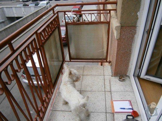 Stavební práce - oprava balkonů: P3310170