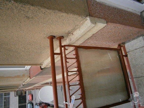Stavební práce - oprava balkonů: P3310171