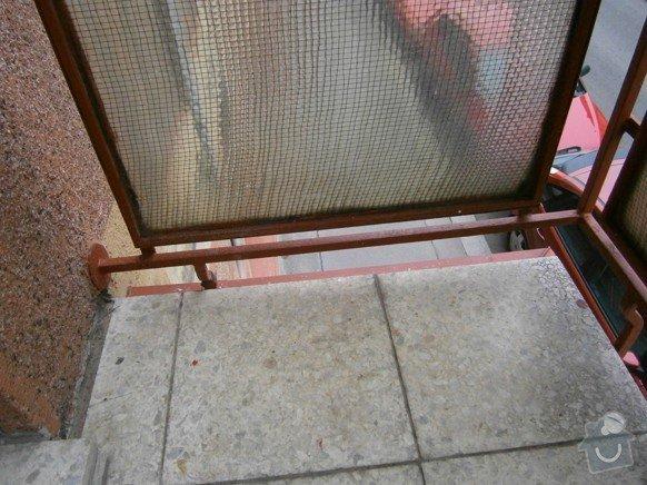 Stavební práce - oprava balkonů: P3310172