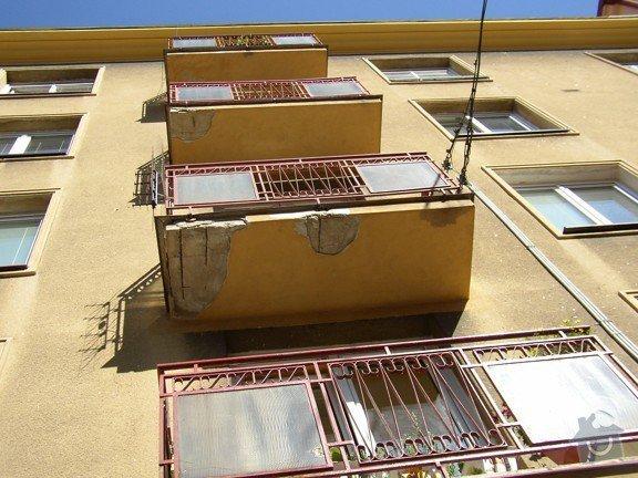 Stavební práce - oprava balkonů: P8150482