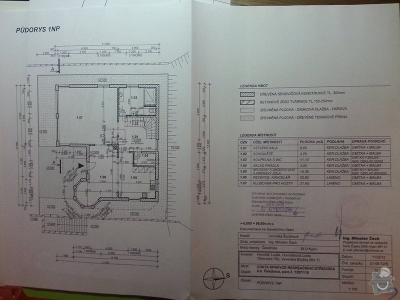 Stavba rodinného domu 125 m2: 20130430_173155
