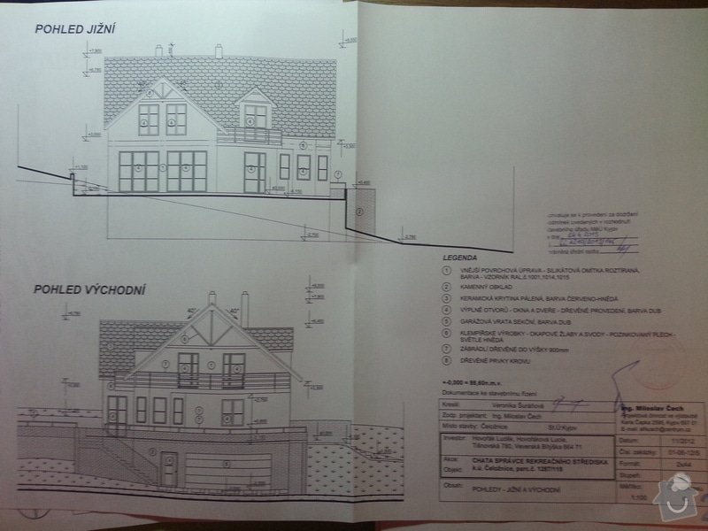 Stavba rodinného domu 125 m2: 20130430_173231