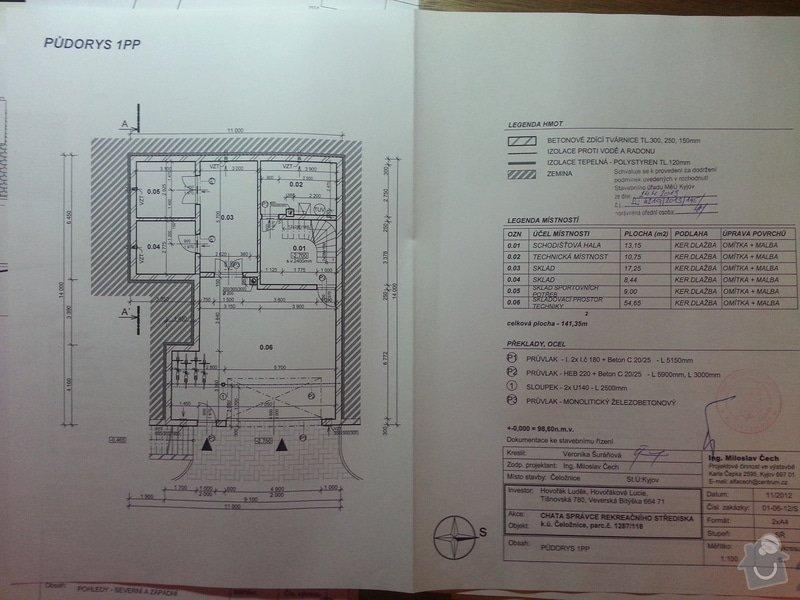 Stavba rodinného domu 125 m2: 20130430_173312